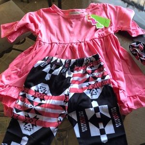 Other - A brand new little girls adorable outfit!!❤️